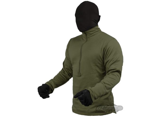 Amazon.com: Condor Outdoor BASE II Zip Pullover: Military ...