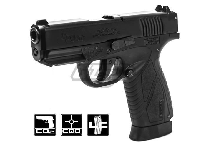 Asg Bersa Bp9cc Pistol Co2 Airsoft Gun Black Airsoft