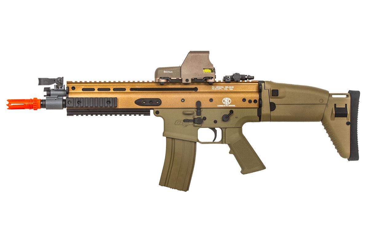 FN Herstal SCAR-L Carbine AEG Airsoft Rifle ( Tan )
