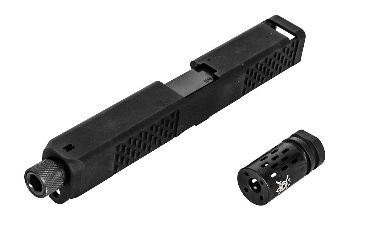 PTS BattleComp G17 Custom Slide & Barrel Set (Black)