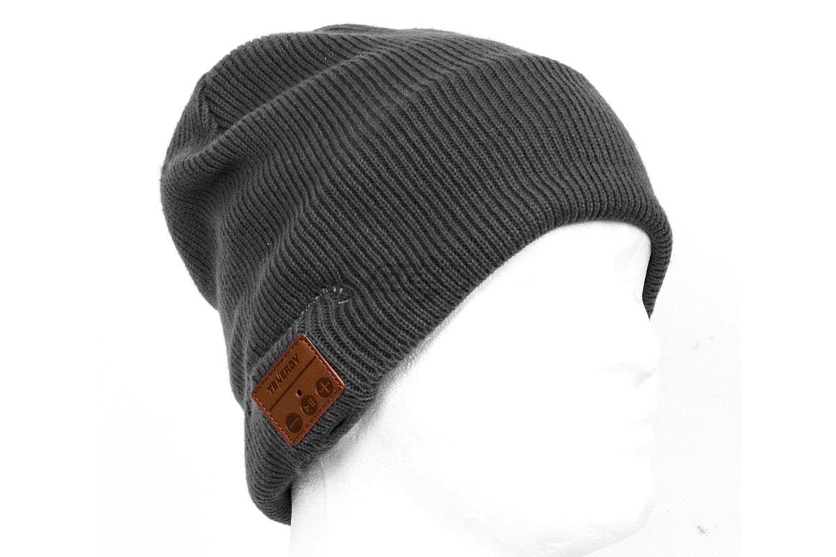 b64c74e0d15f7 Tenergy Bluetooth Beanie Basic Knit ( Charcoal )