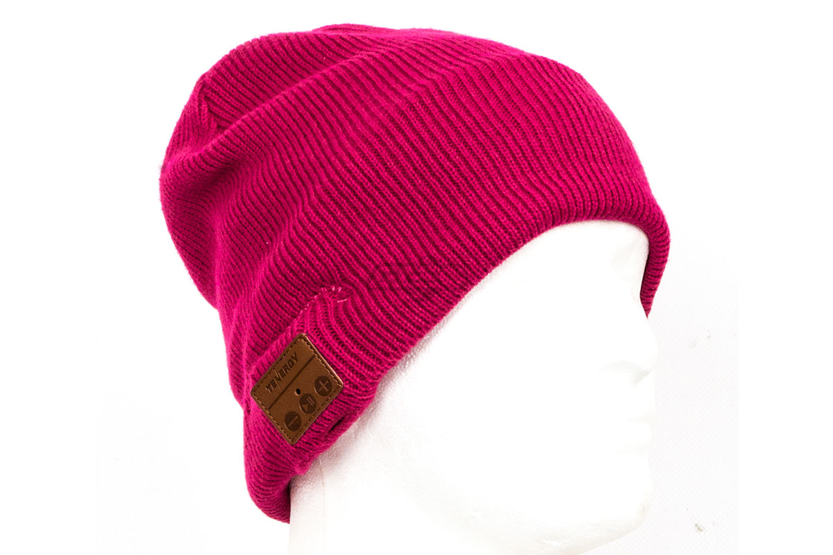cefb8578627dd Tenergy Bluetooth Beanie Basic Knit ( Pink )
