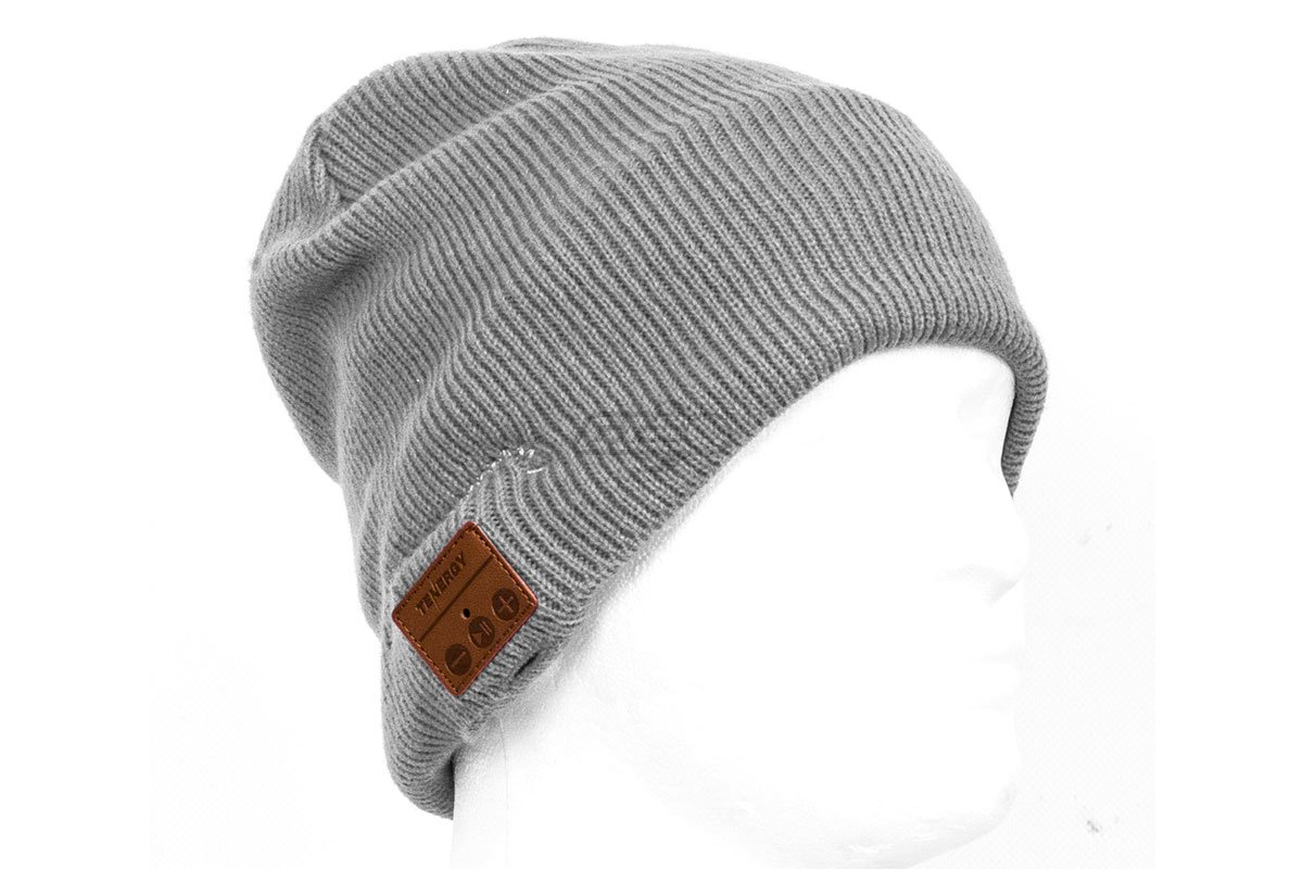 37e0ce1cbc72f Tenergy Bluetooth Beanie Basic Knit ( Grey )