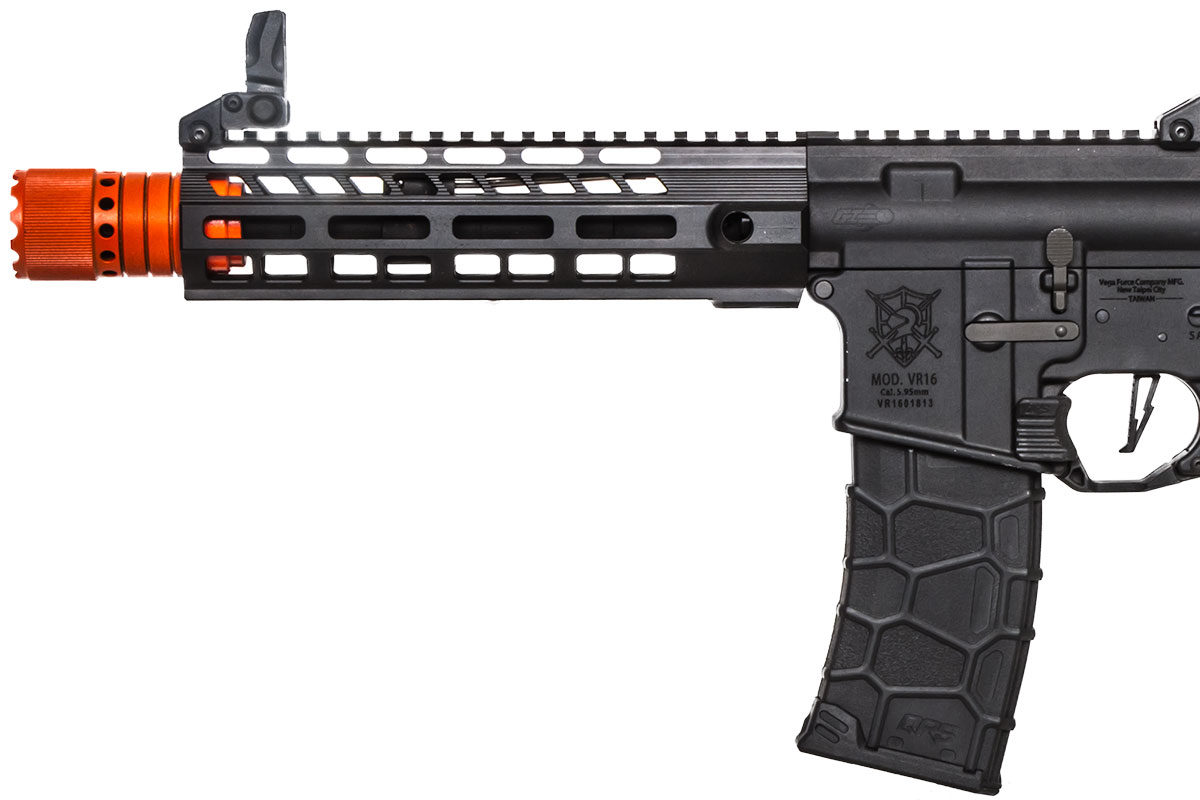 airsoft_vfc_vr16_sabre_cqb_blk_d force avalon vr16 saber m4 cqb m lok aeg airsoft gun by vfc ( black )  at n-0.co
