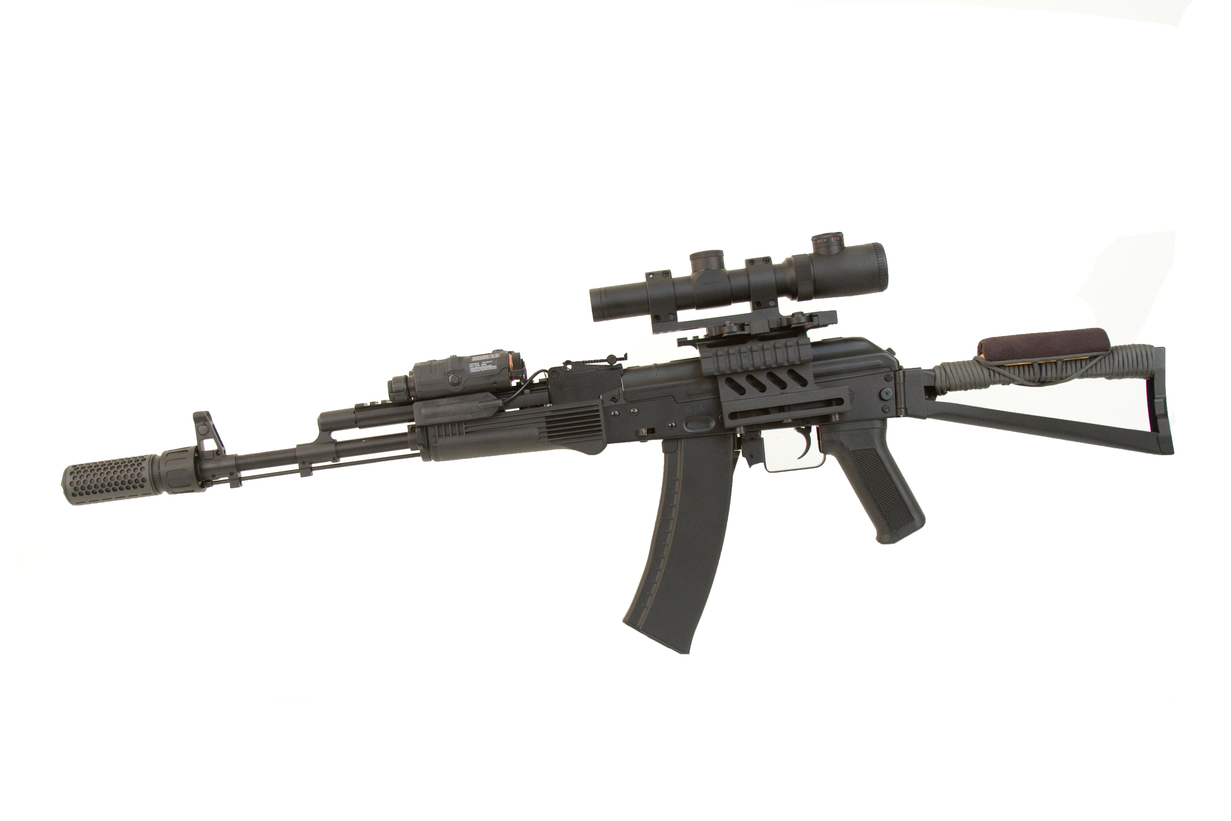 Airsoft GI Custom AKS Tarkov Blackout AEG Airsoft Rifle