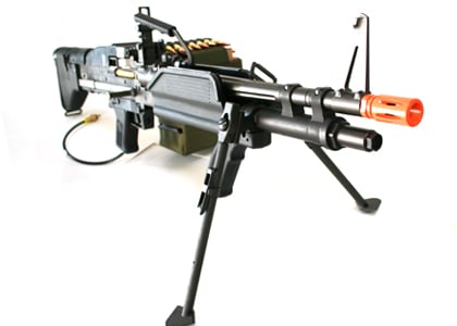 Escort M60 E4 Gas Blowback Airsoft Gun by: Escort - Airsoft GI -