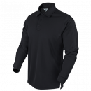Condor Outdoor Performance Long Sleeve Tactical Polo (Black/L)