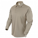 Condor Outdoor Performance Long Sleeve Tactical Polo (Sand/L)