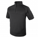 Condor Outdoor Short Sleeve Combat Shirt (Black/S-XXL)