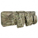 "Condor Outdoor MOLLE 42"" Deluxe Double Rifle Gun Bag w/ Flap (Multicam)"