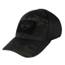 Condor Outdoor Flex Velcro Tactical Cap (Black/S - M)