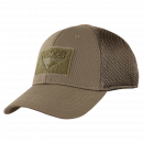 Condor Outdoor Flex Tactical Mesh Cap (Brown, L)