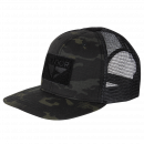 Condor Outdoor Flat Bill Trucker Hat (Multicam Black)