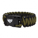 "Condor Outdoor 2GB USB Paracord Bracelet (TAN/OD/6.5"" Long)"