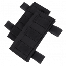 Condor Outdoor Molle Shouler Pad 2 pack  (Black)