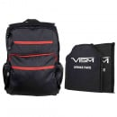 VISM Guardian Backpack with 10X12 Front and Back Level IIIA Ballistic Soft Panels (Black)