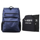 VISM Guardian Backpack With 10X12 Front and Back Level IIIA Ballistic Soft Panels (Navy Blue)