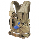 Condor Outdoor Crossdraw Tactical Vest (Black/XL - XXL)