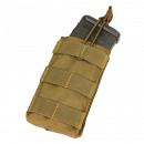 Condor Outdoor MOLLE Single Open Top M4 Magazine Pouch (Coyote)