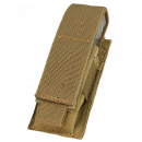 Condor Outdoor Molle Single Pistol Magazine Pouch (Coyote)