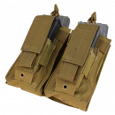 Condor Outdoor Double Kangaroo Magazine M4/M16 Molle Pouch (Coyote)