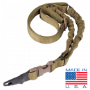 Condor Outdoor ADDER Double Bungee One Point Sling (Coyote Brown)