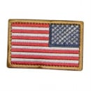 Condor Outdoor Velcro US Flag Patch (Full Color/Reverse)