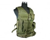 Condor Outdoor Crossdraw Tactical Vest (OD)