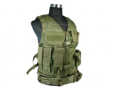 Condor Outdoor Crossdraw Tactical Vest (OD Green/M - L)