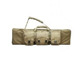 "Condor Outdoor MOLLE 42"" Deluxe Single Rifle Gun Bag (Tan)"
