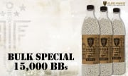 Elite Force Premium Biodegradable .20g 5000 ct. BBs 3 Bottle Special (White)