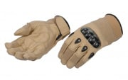 Emerson Hard Knuckle Gloves (Tan/ Medium)