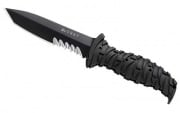 "CRKT Ultima 5"" Modified Tanto Fixed Blade Knife (Black)"