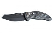 "Hogue Ex-04 4"" Wharncliffe Folding Knife (Black/Gray)"