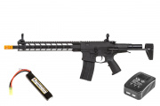 Classic Army Extreme Nemesis LX-13 M4 Carbine AEG Airsoft Gun LiPo Battery & Charger Package ( Black )