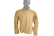 Emerson Gen 3 Combat Shirt by Lancer Tactical (Coyote Tan/Large)