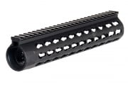 "Tac 9 Industries XRU4 10"" Keymod Rail (BLK)"