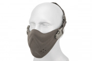 Lancer Tactical Neoprene Hard Foam Lower Face Mask (Gray)