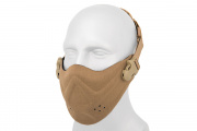 Lancer Tactical Neoprene Hard Foam Lower Face Mask (Flat Dark Earth)