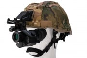 Tac 9 Industries PVS-14 3x Scope w/ Red Laser (Black)