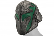 "Emerson Steel Mesh ""Templar"" Mask (Green)"