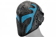 "Emerson Steel Mesh ""Templar"" Mask (Blue)"