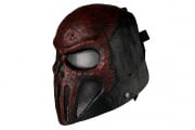 "Emerson Wire Mesh ""Skull Punisher"" Mask (Red/Black)"