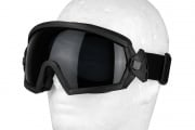 Emerson Regulate Clear/Smoke Lens Goggles (Black)