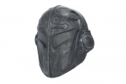 "Emerson Steel Mesh ""Templar"" Mask (Black/Silver)"