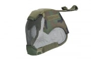 Emerson V6 Strike Mesh Mask Helmet (Woodland)