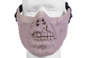 Emerson Half Face Zombie Skull Mask (TAN)