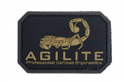 "Emerson ""Agilite"" Pvc Patch (Black/Tan)"
