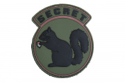 "Emerson ""Secret Squirrel"" PVC Patch ( OD/Black)"