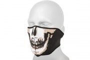 Emerson Neoprene Half Skull Face Mask (Black/White)